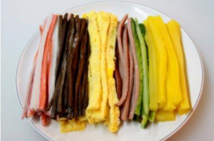 ingredientes kimbap