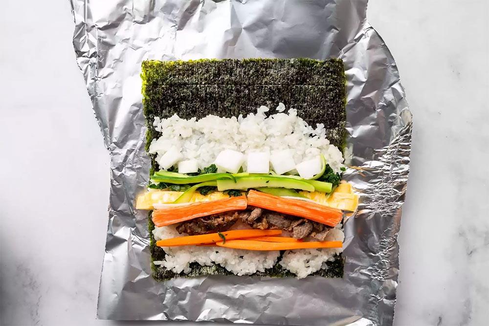 ¿cómo preparar kimbap?